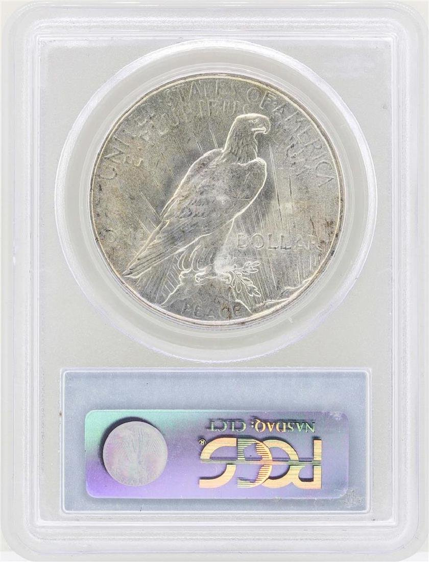 1934 $1 Peace Silver Dollar Coin PCGS MS64 - 2