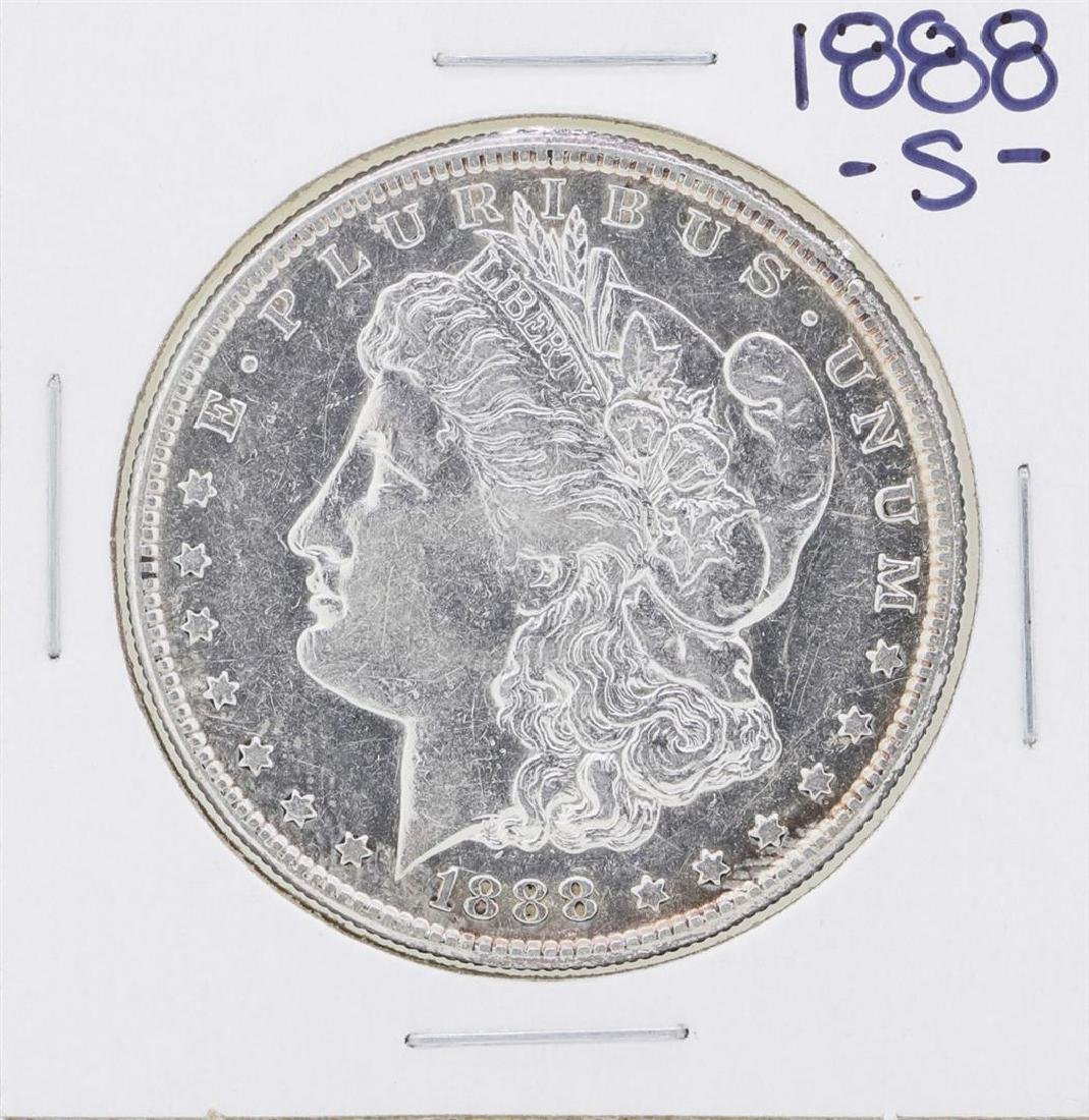 1888-S $1 Morgan Silver Dollar Coin