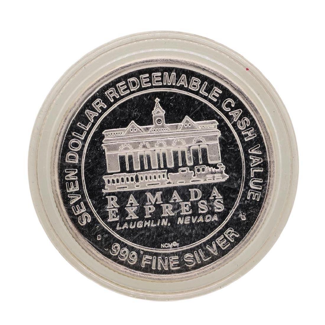 .999 Silver Ramada Express Laughlin, NV $7 Redeemable