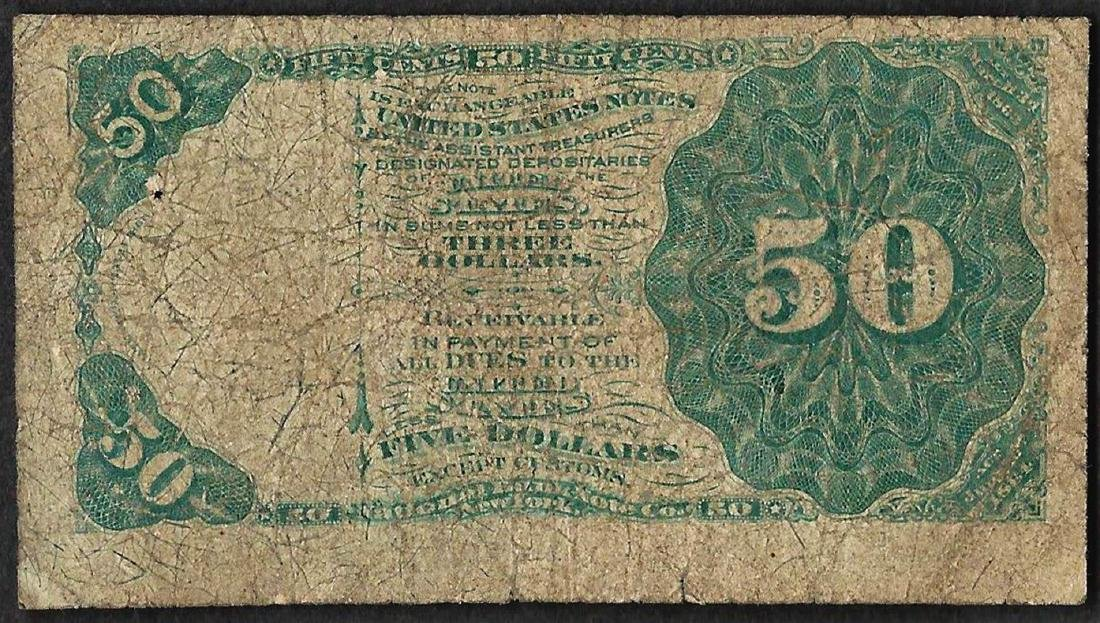 March 3, 1863 Fifty Cents 4th Issue Fractional Note - 2