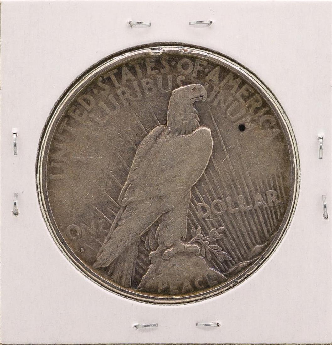 1927-S $1 Peace Silver Dollar Coin - 2