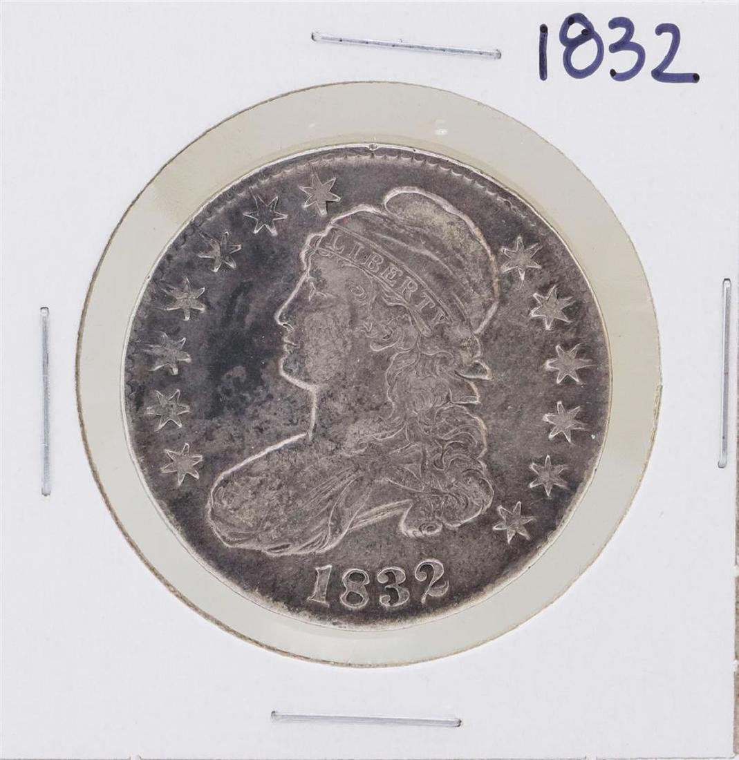 1832 Small Letter Capped Bust Half Dollar Coin