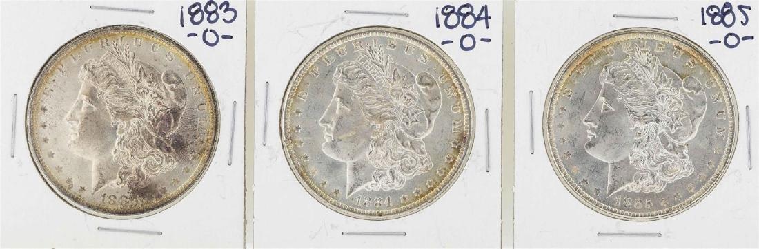 1883-O to 1885-O $1 Morgan Silver Dollar Coins