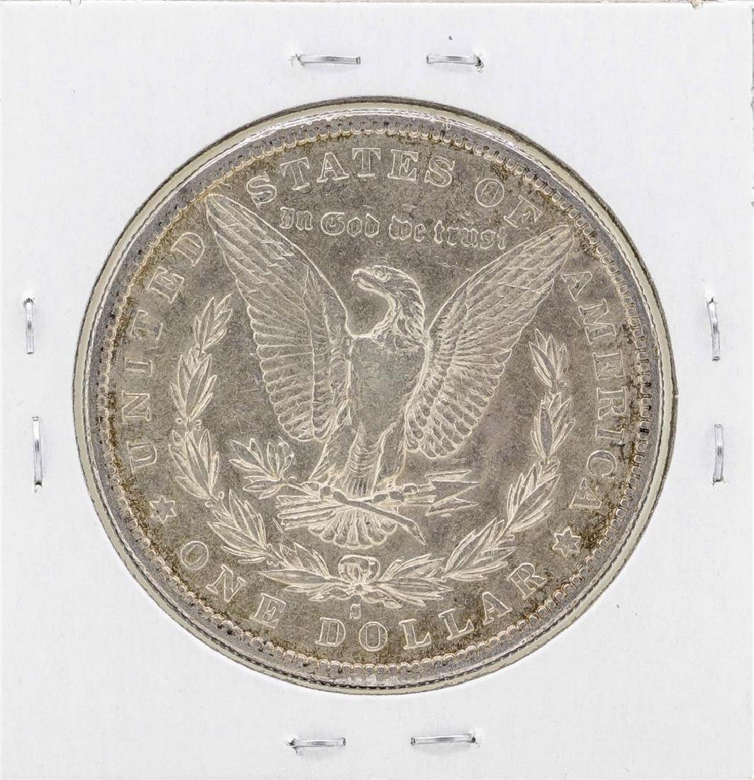 1887-S $1 Morgan Silver Dollar Coin - 2