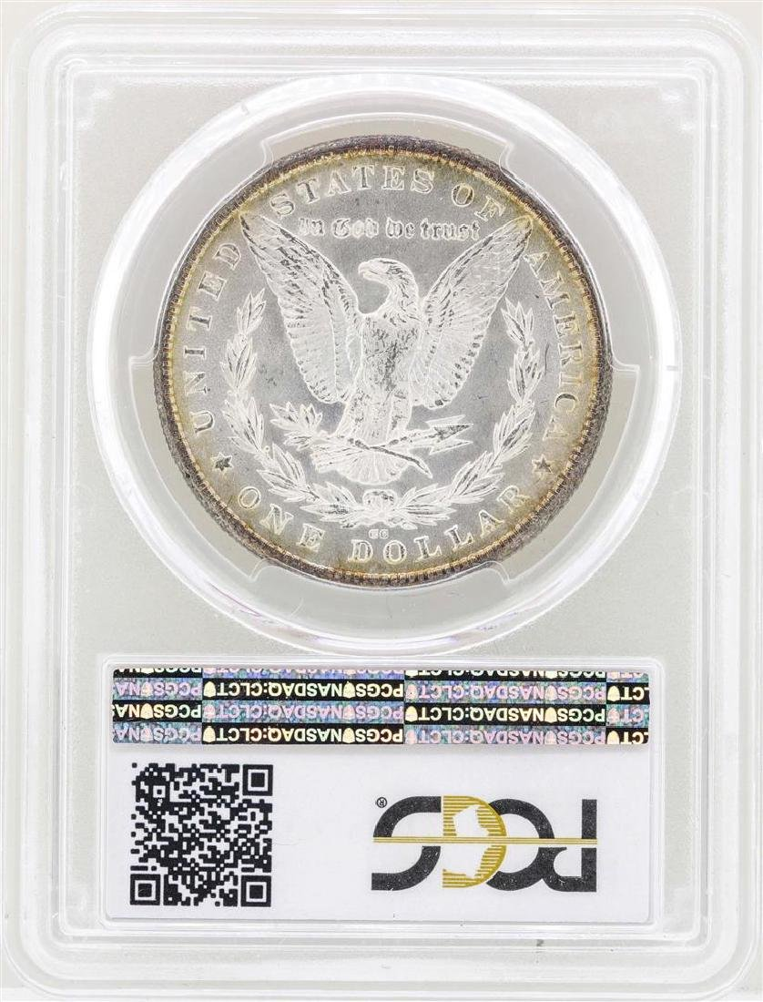 1880-CC $1 Morgan Silver Dollar Coin PCGS MS64 CAC - 2