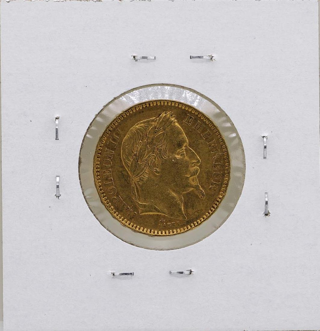 1864 France Napoleon 20 Francs Gold Coin