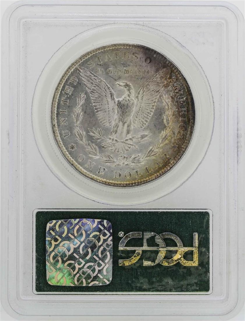 1878 7TF Reverse of 1879 $1 Morgan Silver Dollar Coin - 2