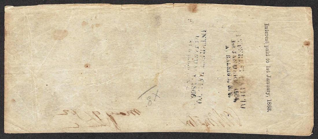1862 $100 Confederate States of America Note - 2