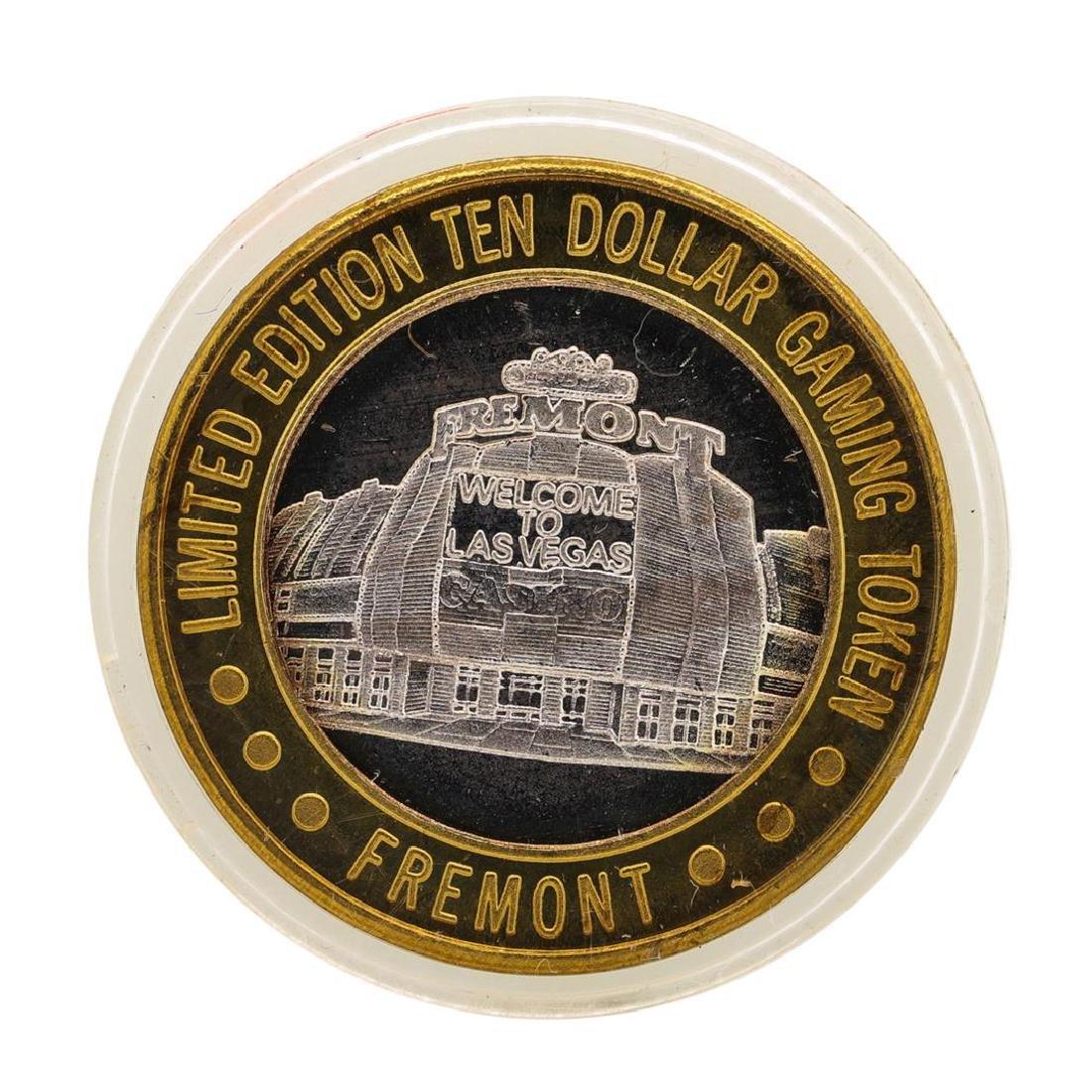 .999 Silver Sam Boyd's Fremont Las Vegas $10 Casino - 2