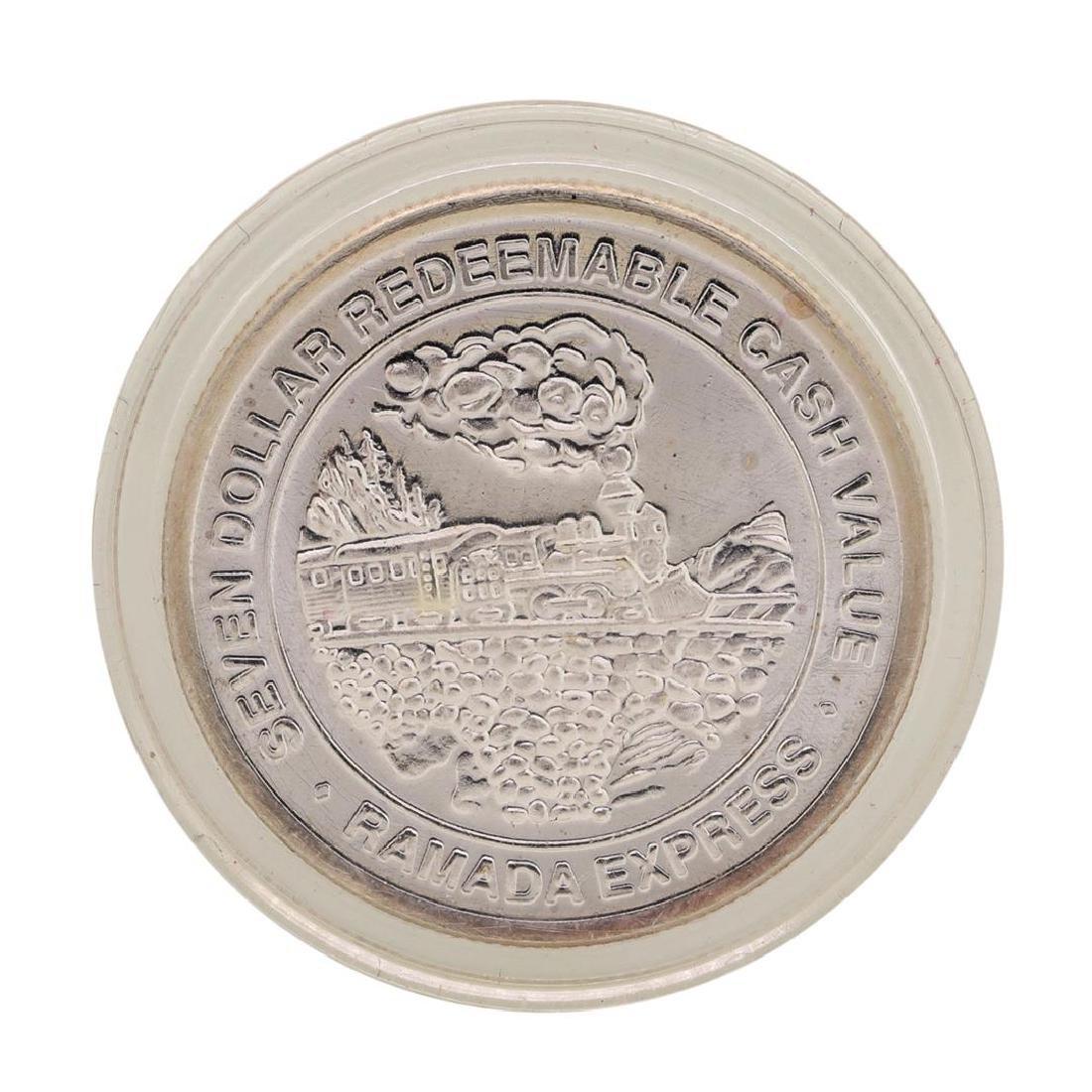 .999 Silver Ramada Express Laughlin, NV $7 Redeemable - 2