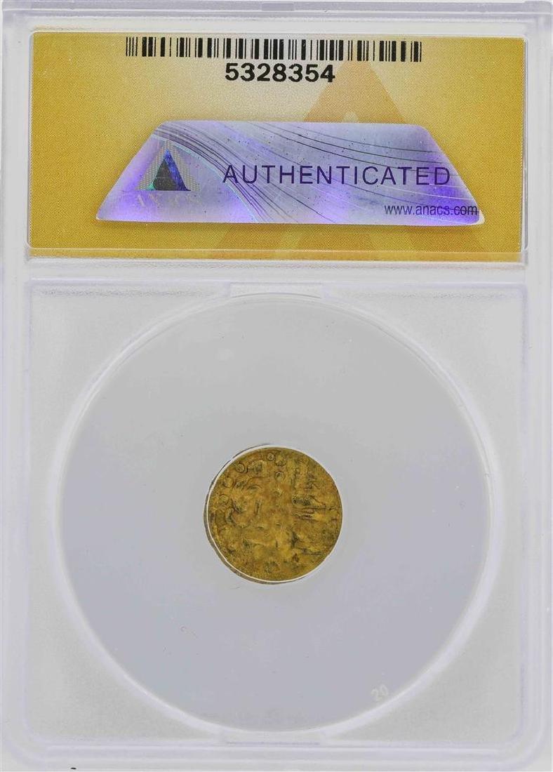 1593-1638 Macassar Ala-al-Din Kupang Gold Coin ANACS - 2