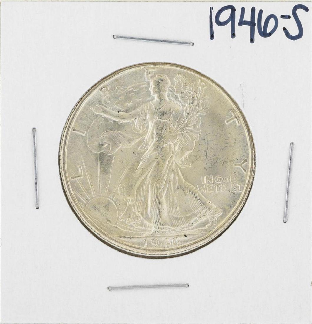 1946-S Walking Liberty Half Dollar Silver Coin