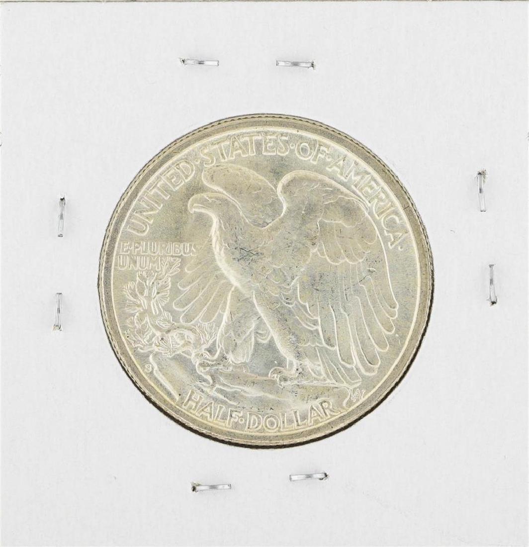 1946-S Walking Liberty Half Dollar Silver Coin - 2