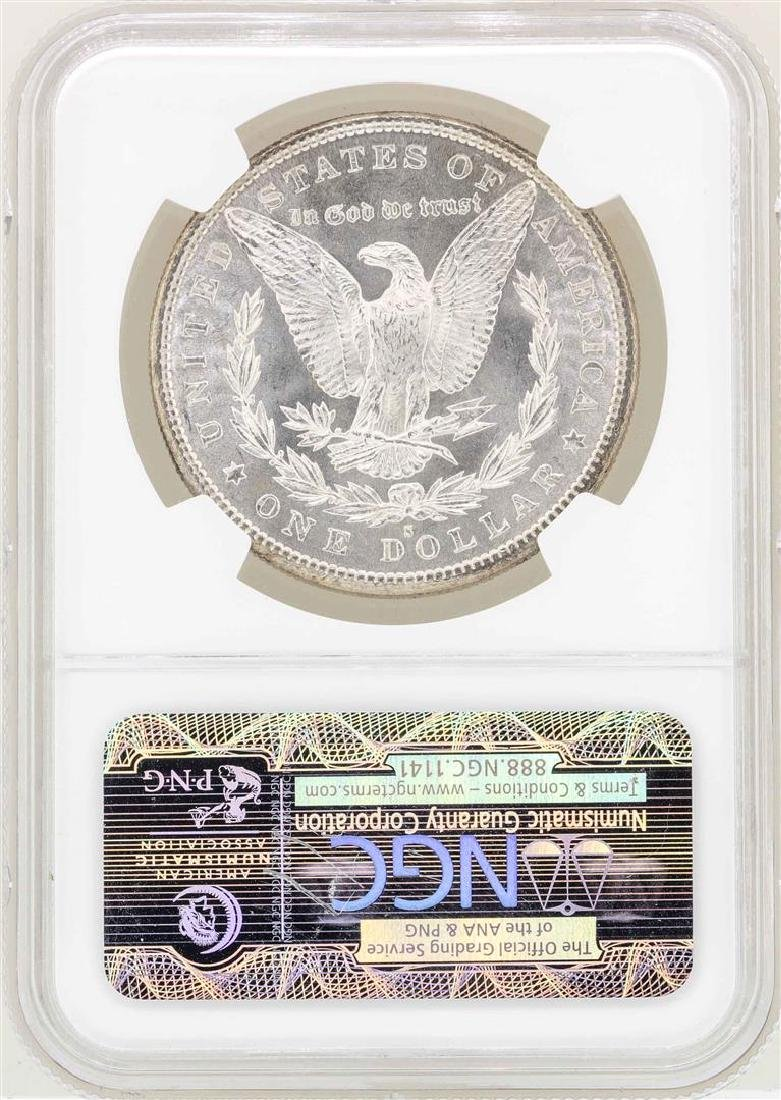 1880-S $1 Morgan Silver Dollar Coin NGC MS65 - 2