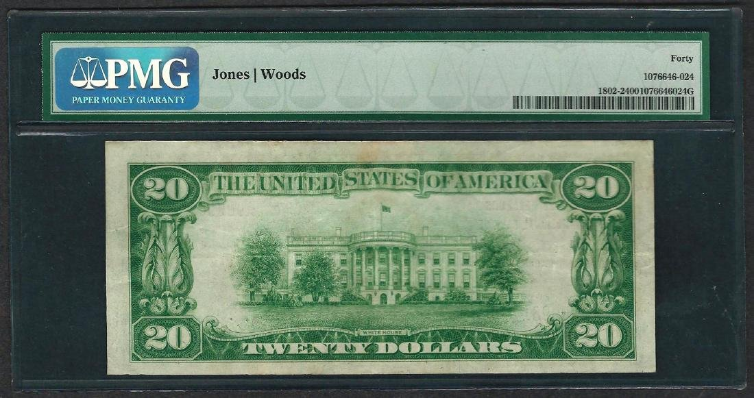 1929 $20 National Currency Note Mobile, Alabama CH# - 2