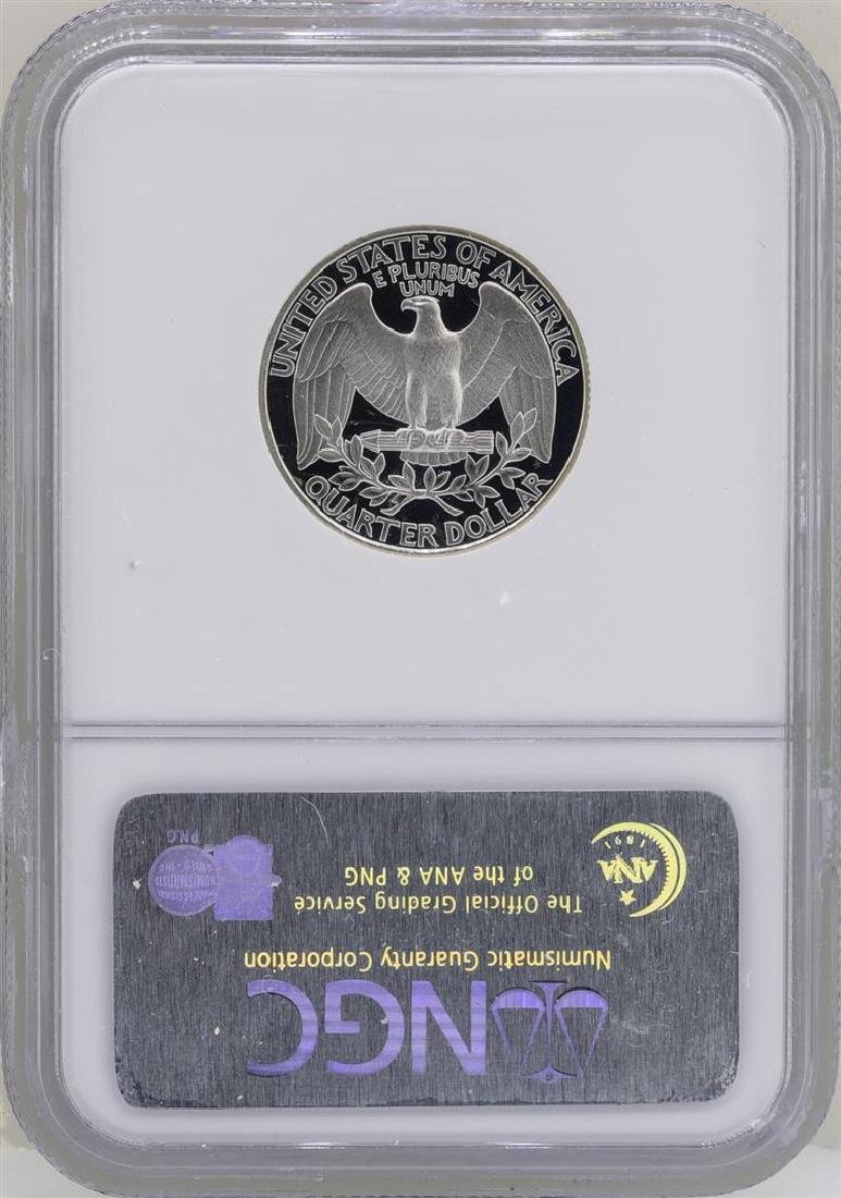 1992-S Washington Silver Proof Quarter Coin NGC PF70 - 2