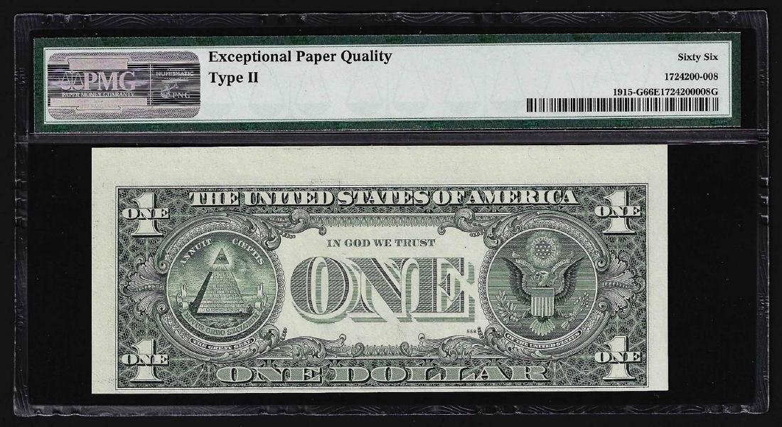 1988A $1 Federal Reserve Note ERROR Inverted Overprint - 2