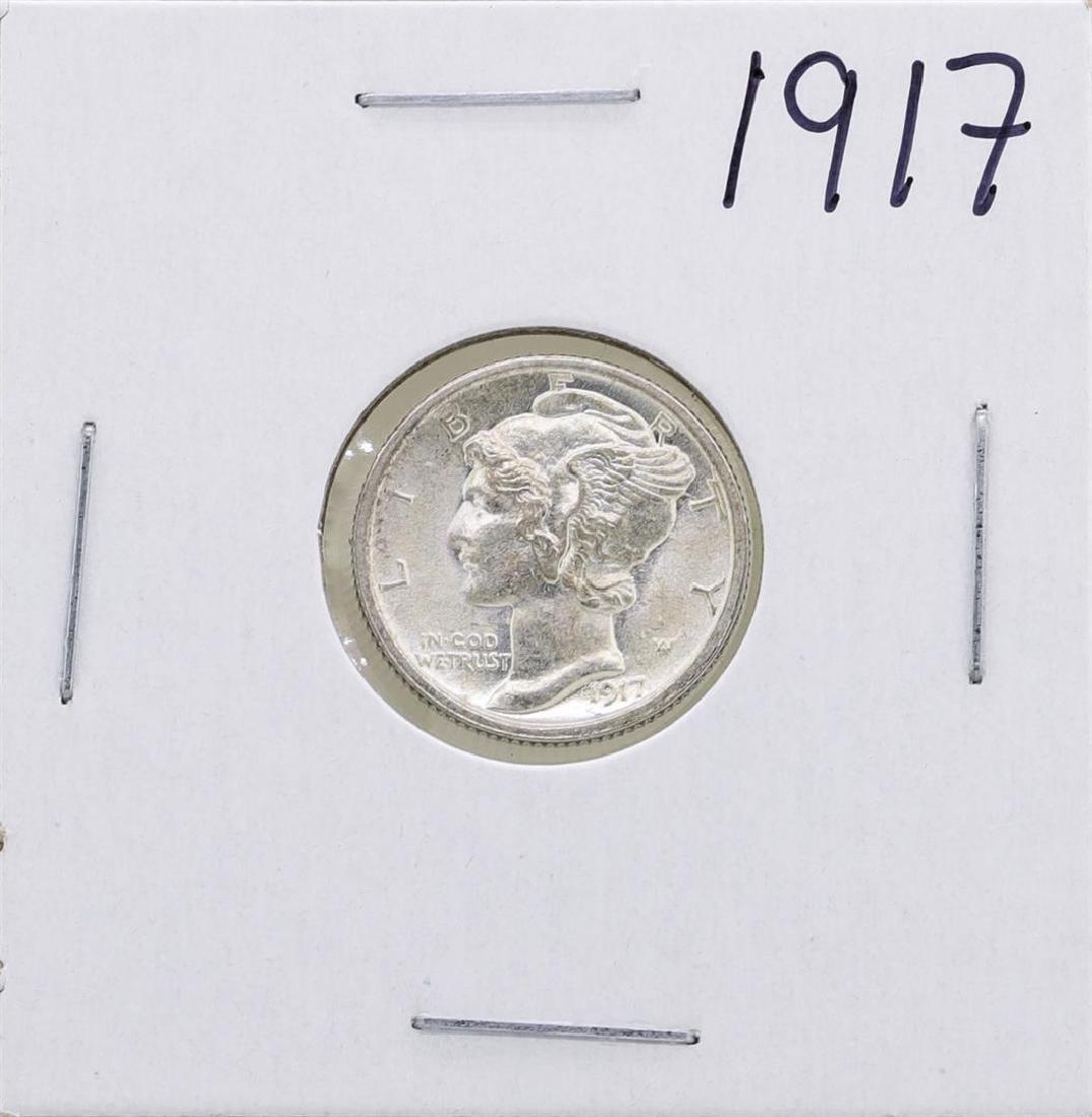 1917 Mercury Dime Coin
