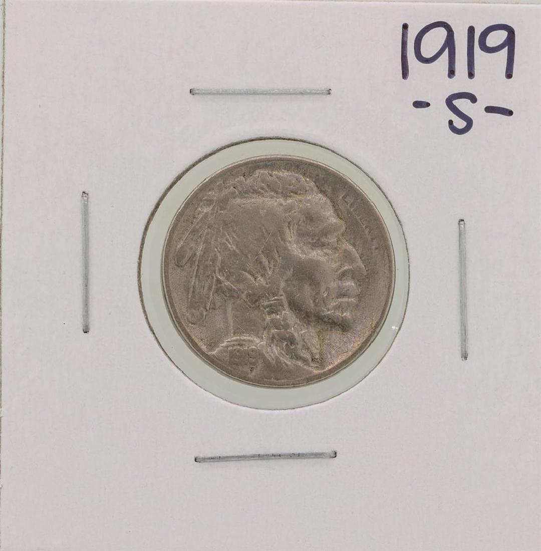 1919-S Buffalo Nickel Coin