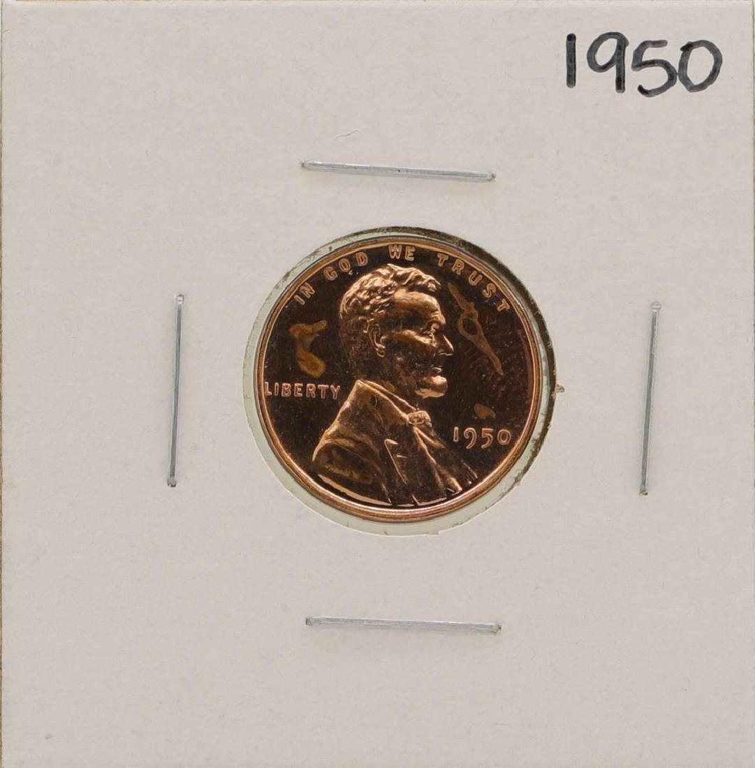 1950 Lincoln Penny Proof Coin