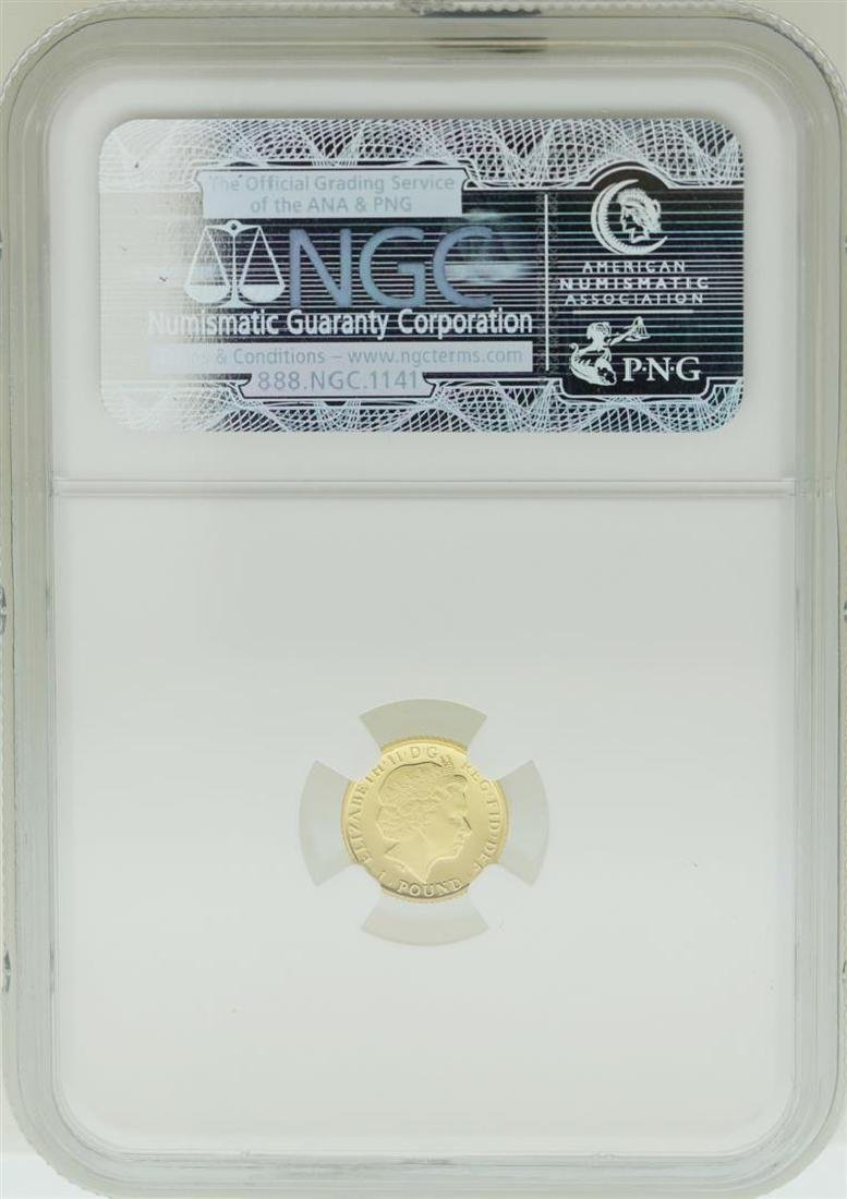 2013 Great Britain 1 Pound Gold Coin NGC PF70 Ultra - 2