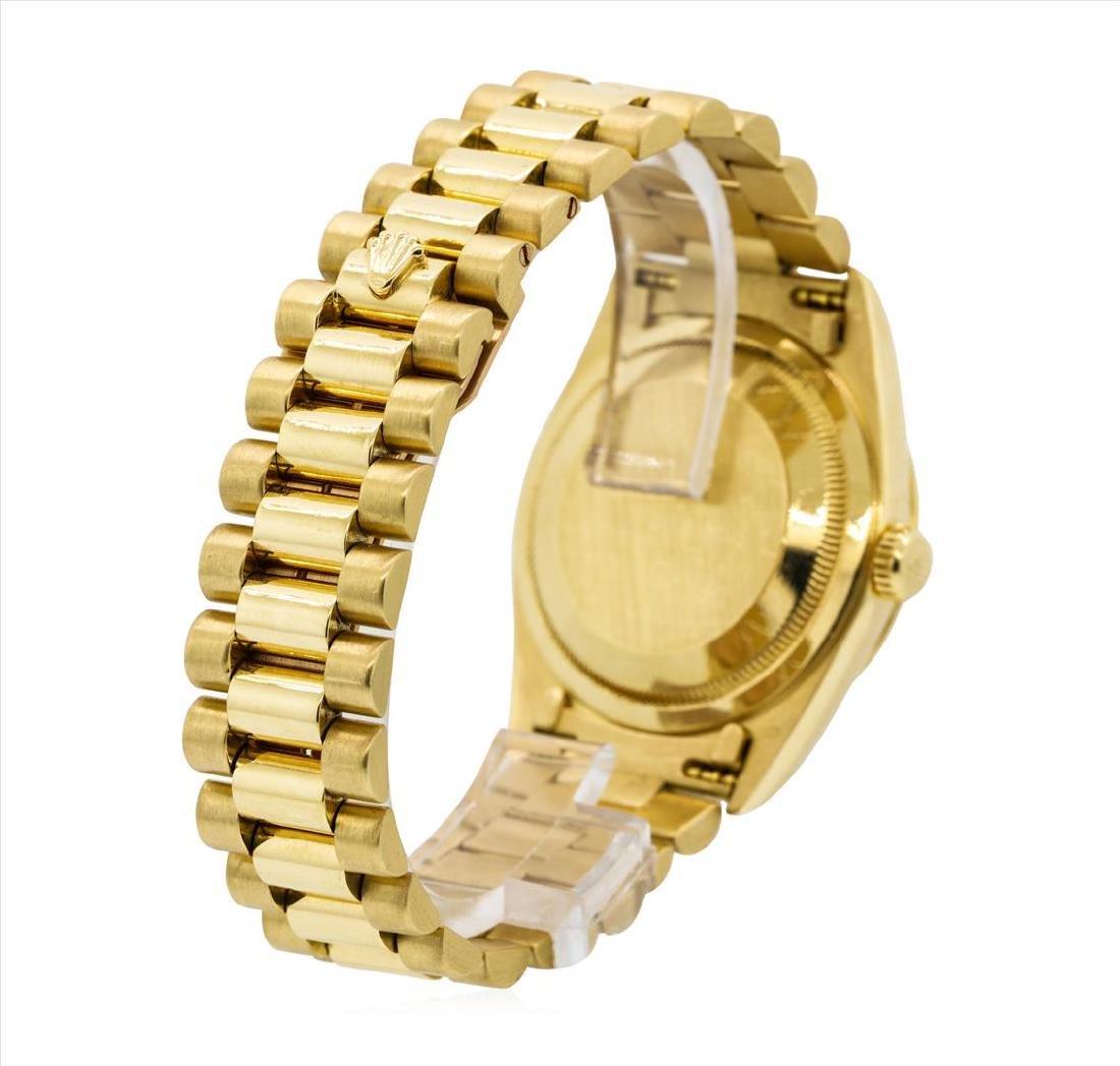 Rolex President 18KT Yellow Gold DayDate Mens - 3