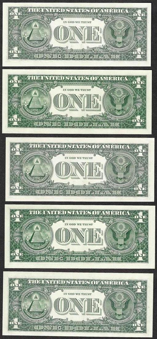 District Set of 1963B $1 Federal Reserve BARR - 2