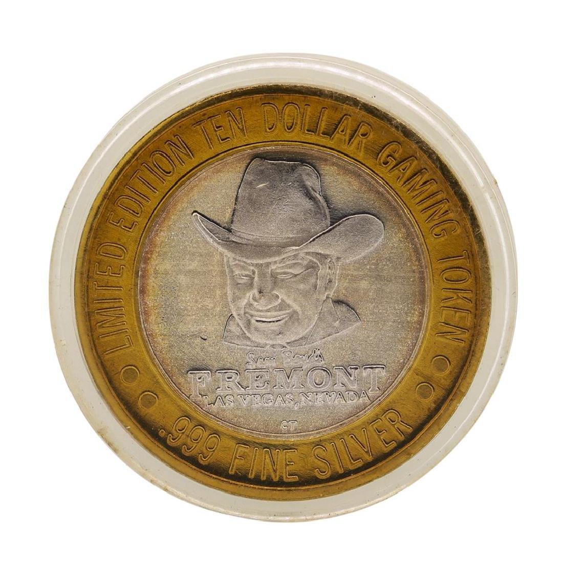 .999 Fine Silver Sam Boyd's Fremont $10 Casino Limited