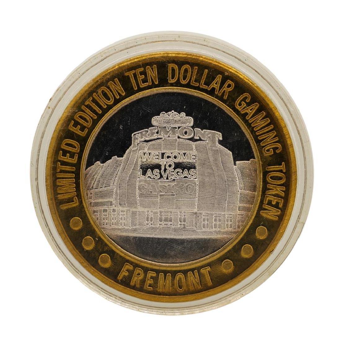 .999 Fine Silver Sam Boyd's Fremont $10 Casino Limited - 2