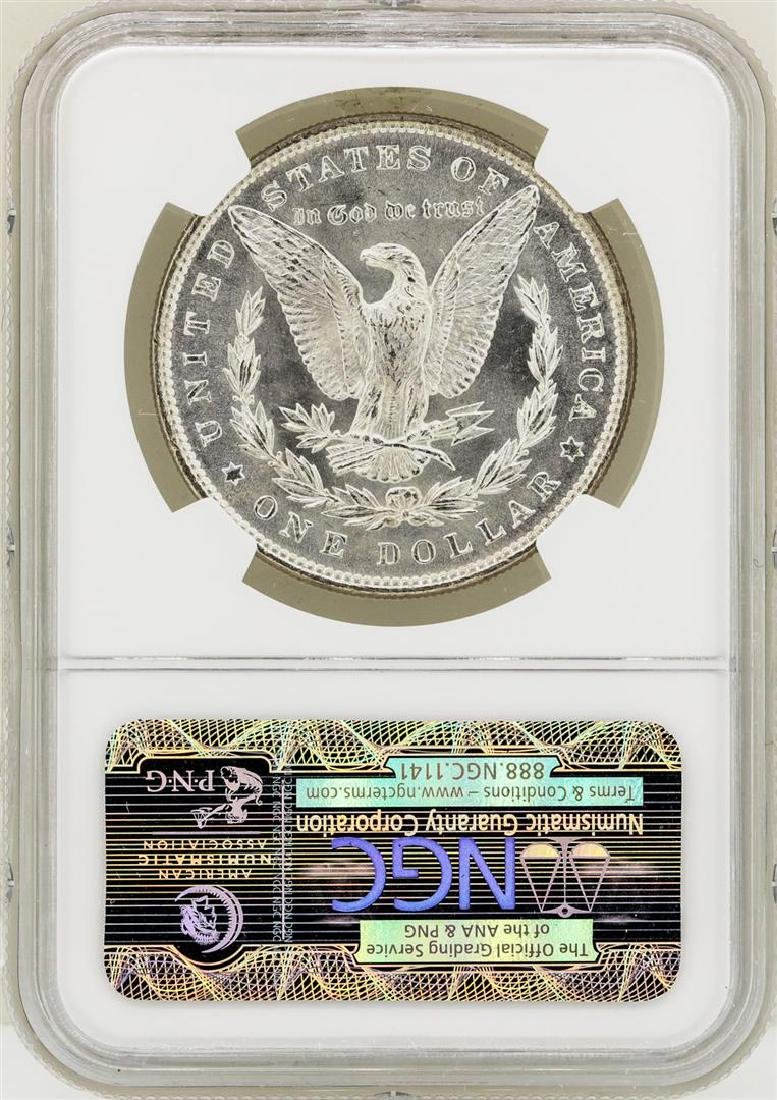 1886 $1 Morgan Silver Dollar Coin NGC MS65 - 2