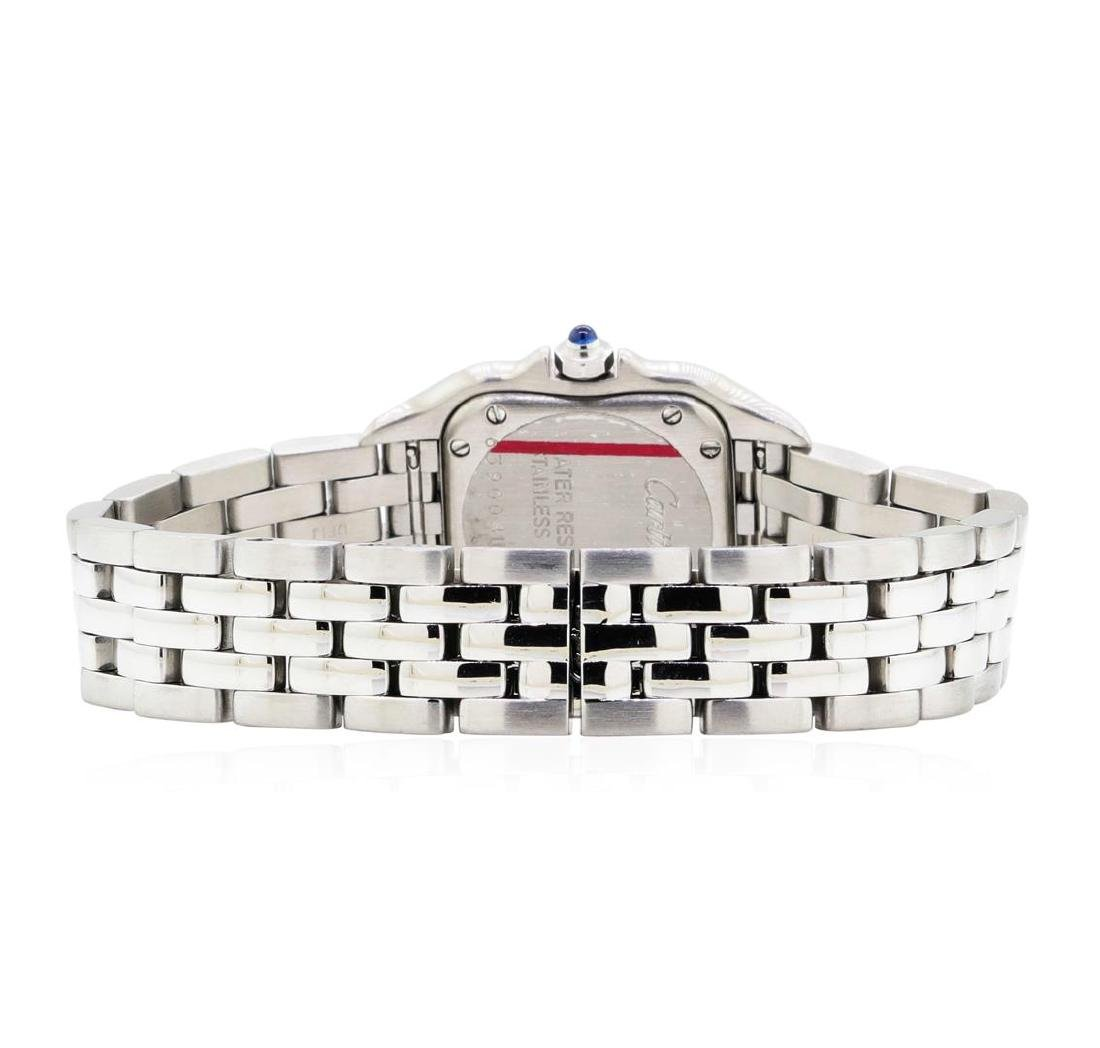Stainless Steel Ladies Cartier Panthere Wristwatch - 2