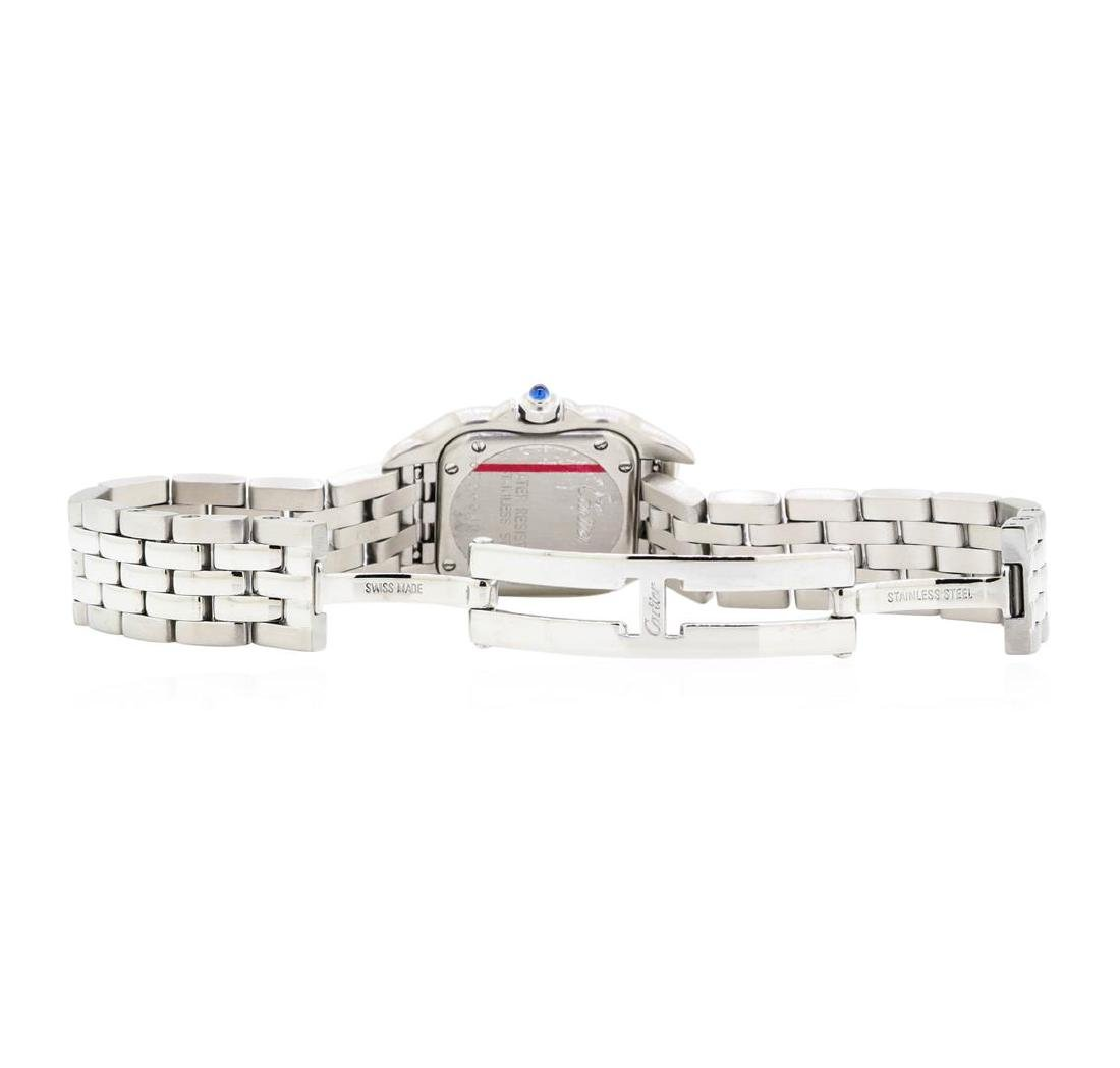 Stainless Steel Ladies Cartier Panthere Wristwatch - 3