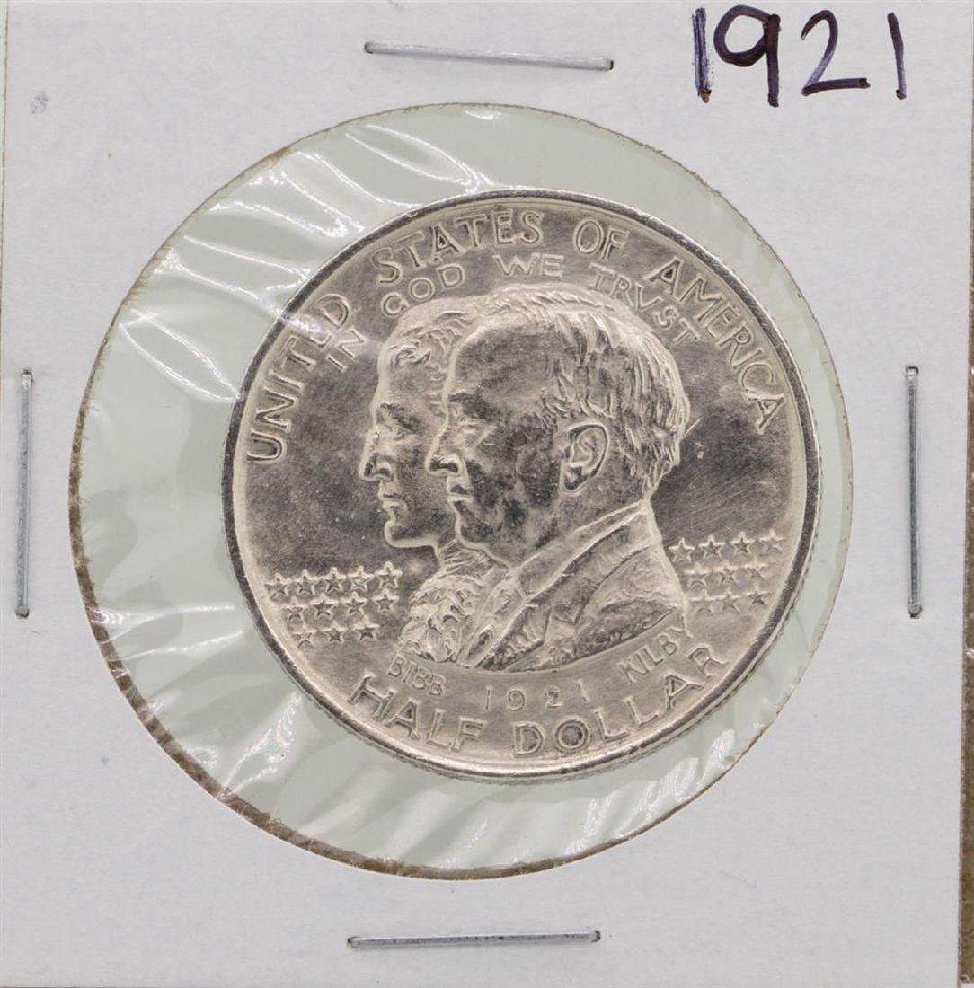 1921 Alabama Commemorative Half Dollar Coin