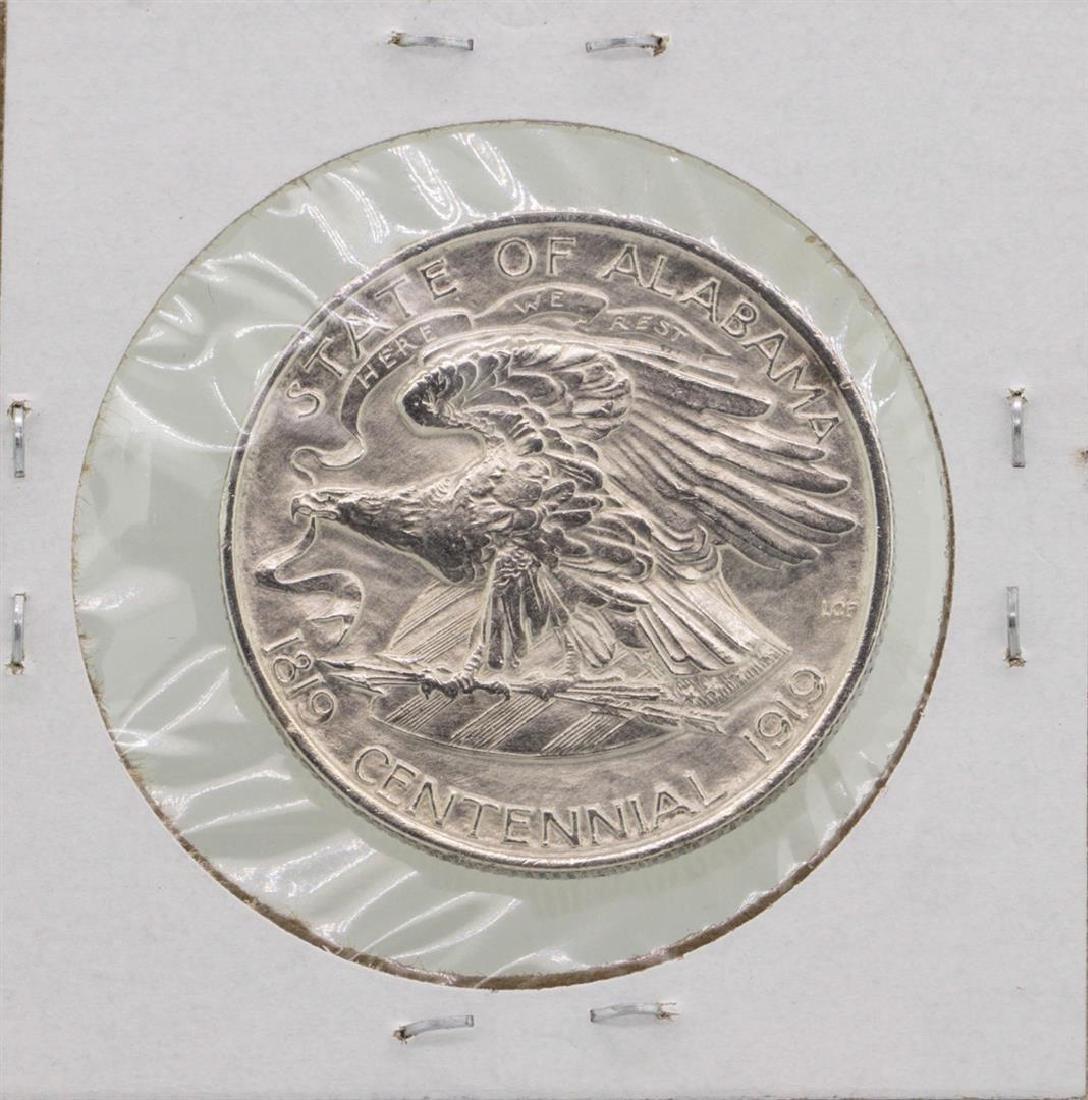 1921 Alabama Commemorative Half Dollar Coin - 2