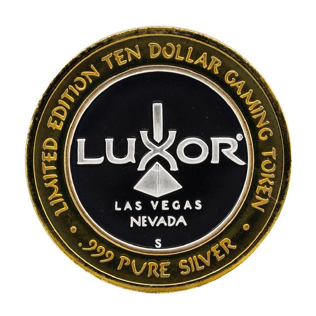 .999 Silver Luxor Las Vegas, NV Casino $10 Casino - 2
