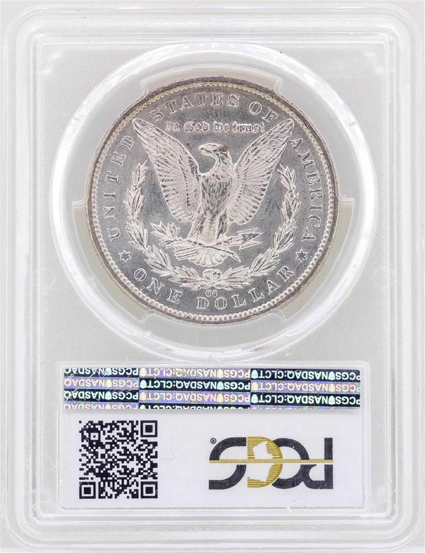 1892-CC $1 Morgan Silver Dollar Coin PCGS MS65 - 2