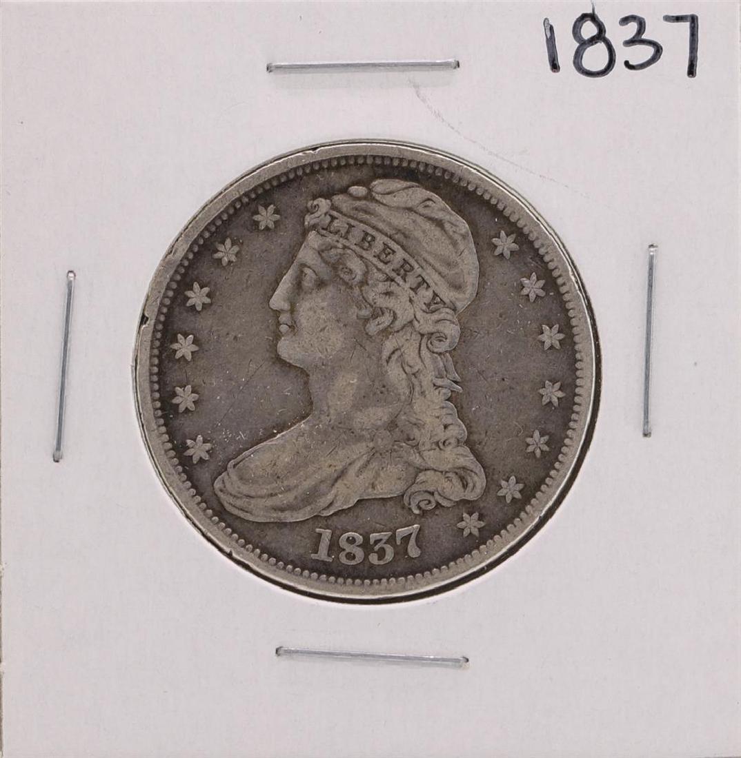 1837 Capped Bust Half Dollar Coin
