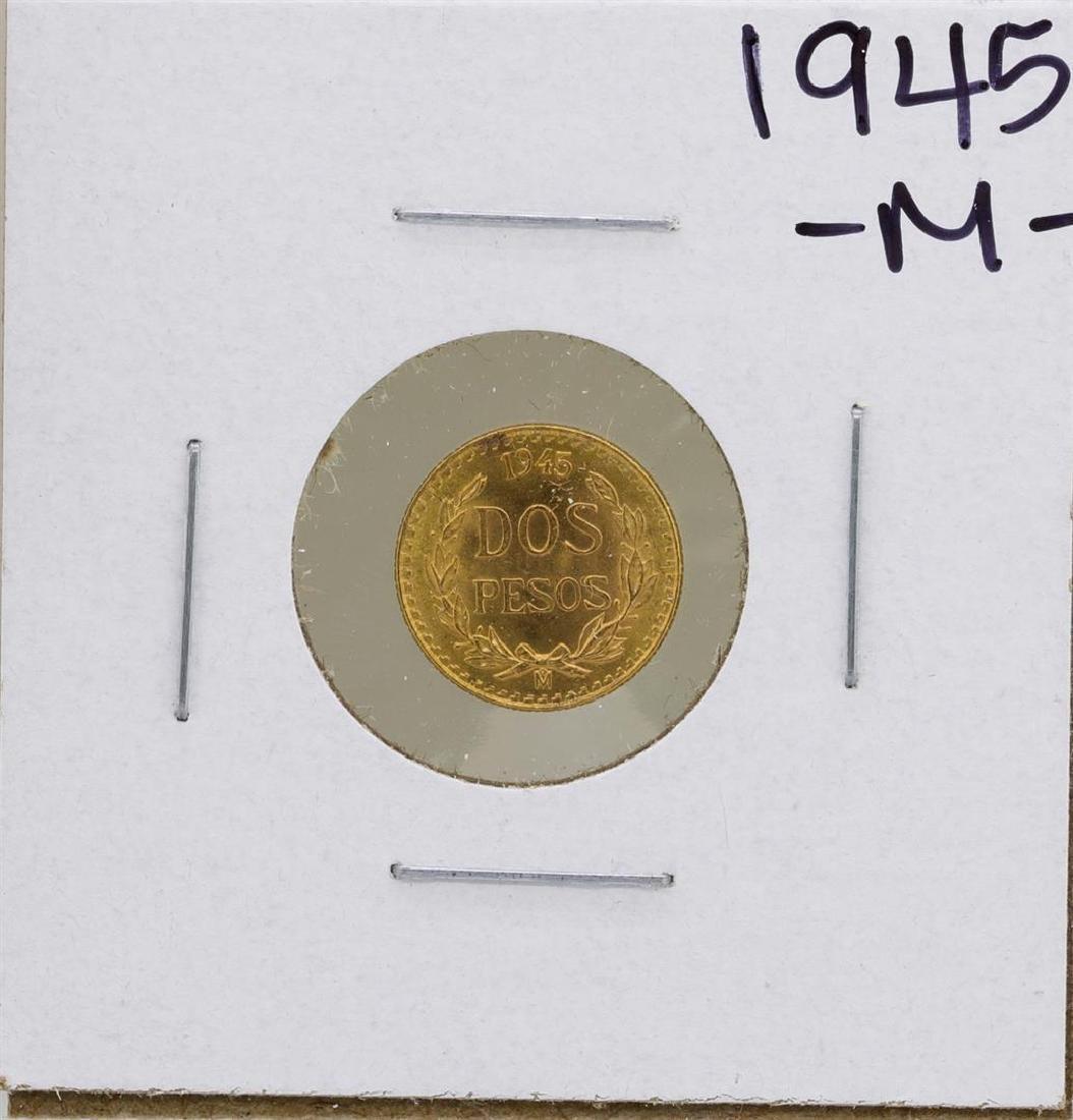 1945 Dos Pesos Gold Coin