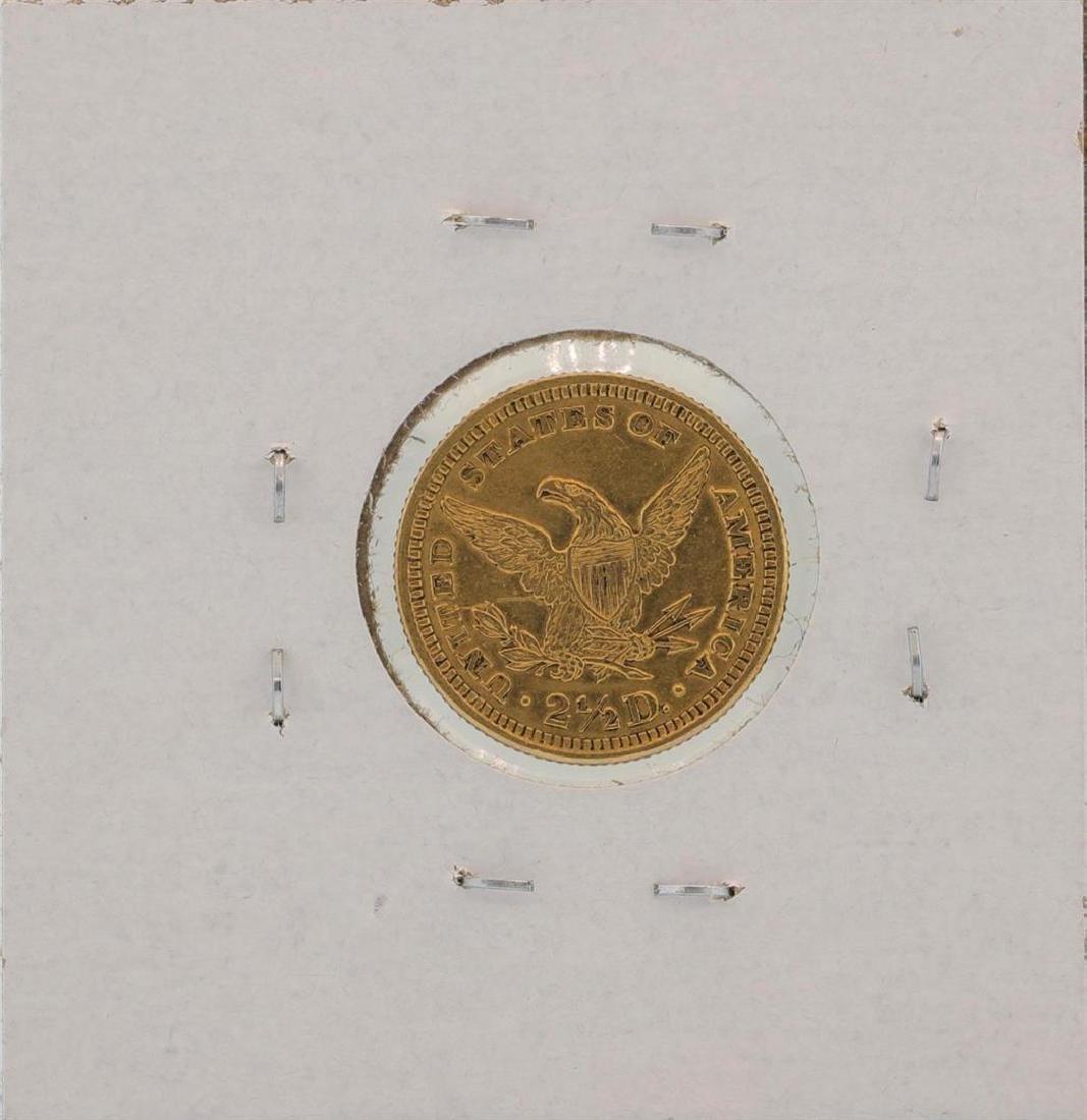 1902 $2 1/2 Liberty Head Quarter Eagle Gold Coin - 2
