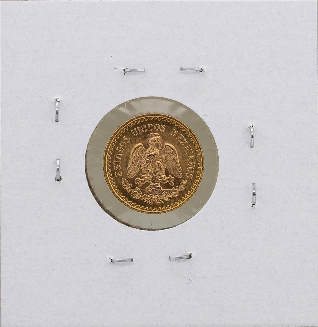 1945 Mexico 2 1/2 Pesos Gold Coin - 2