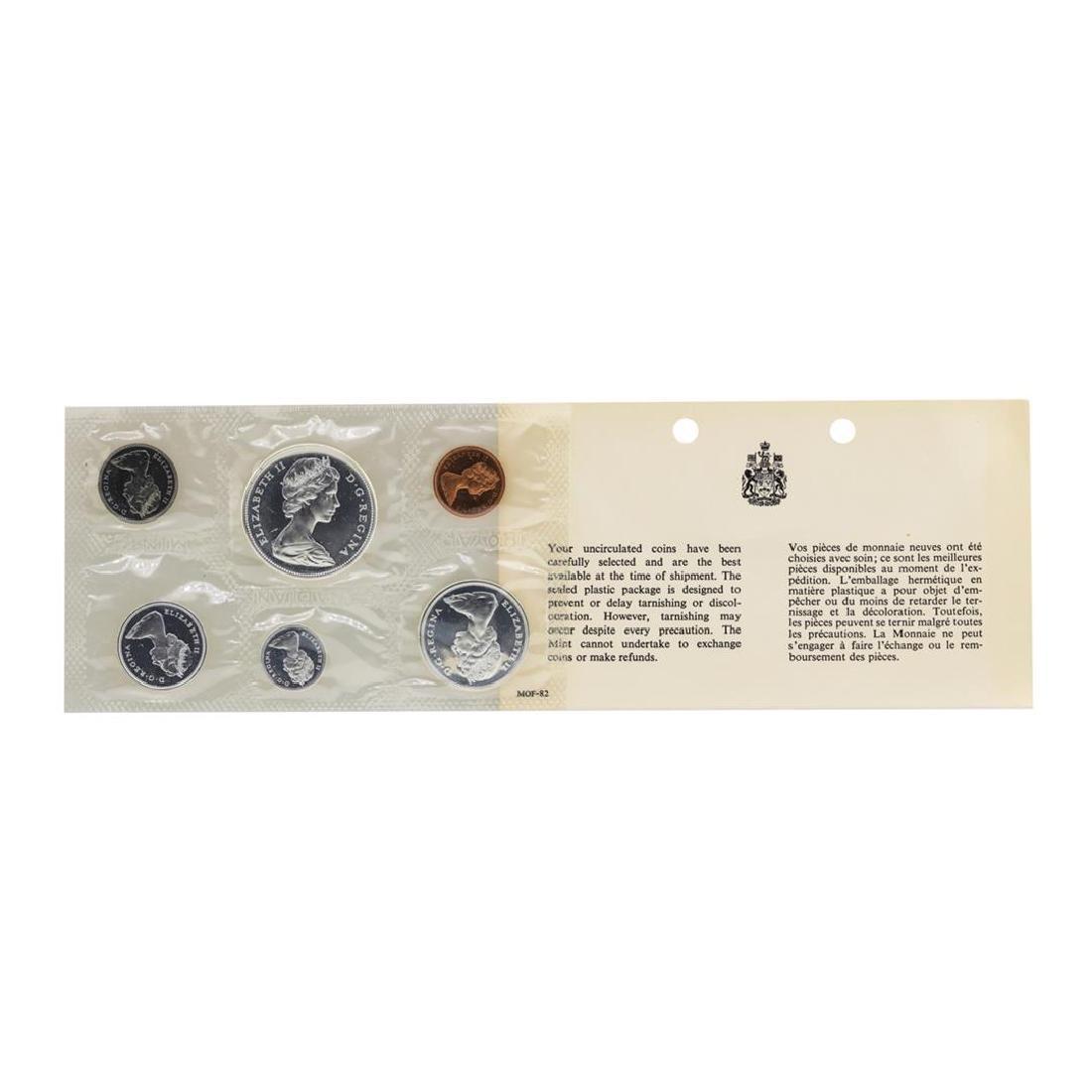 1967 Canada (6) Proof Set w/ Envelope - 2
