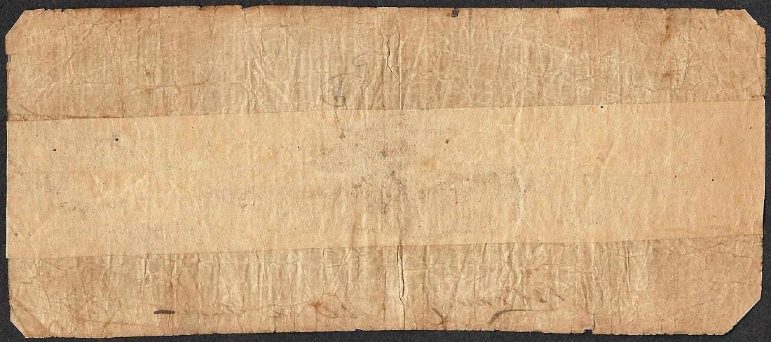 1861 $5 The Bank of Pittsylvania Obsolete Note - 2