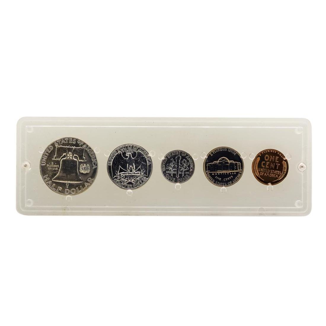 1958 (5) Coin Proof Set - 2