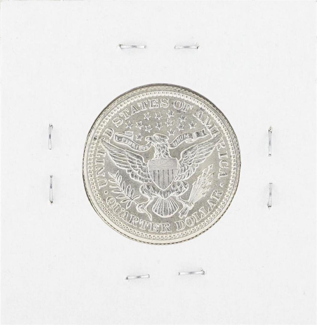 1904 Barber Quarter Silver Coin - 2