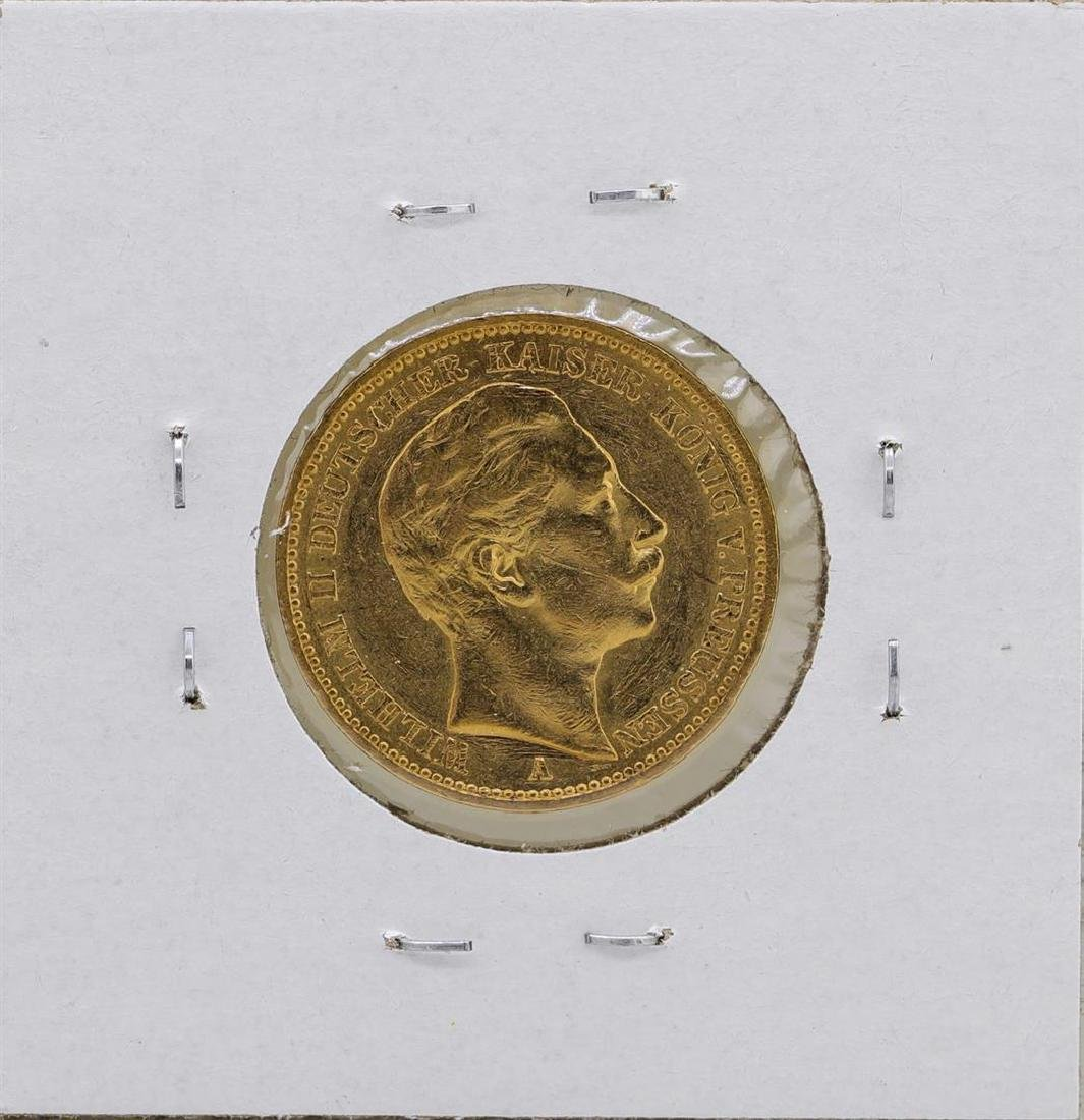 1889-A Germany-Prussia 20 Marks Gold Coin - 2