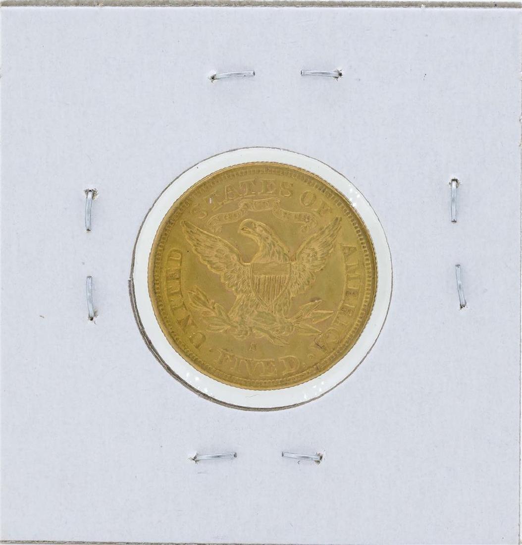 1880-S $5 Liberty Head Half Eagle Gold Coin - 2