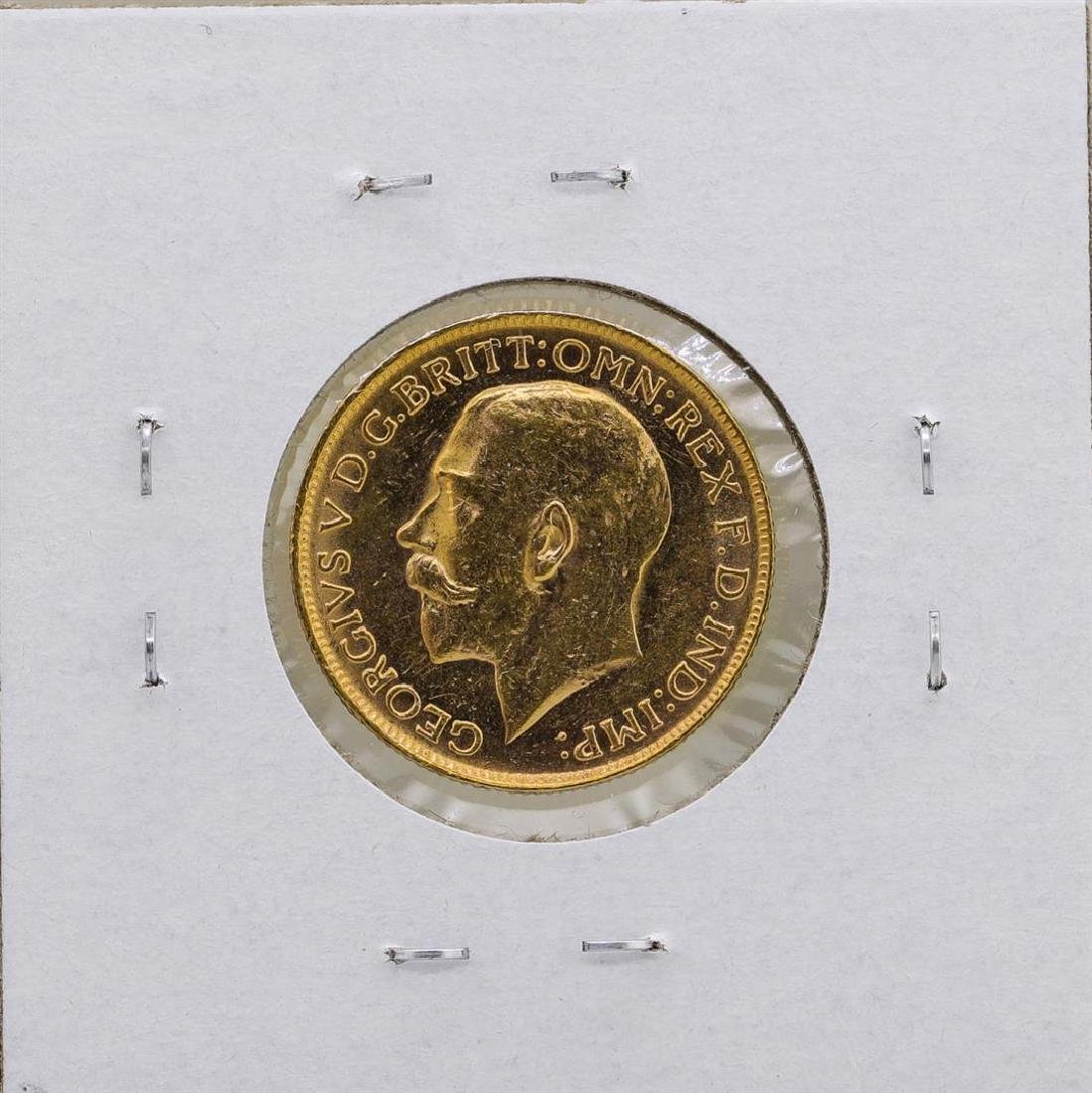 1919 Great Britain George IV Sovereign Gold Coin - 2