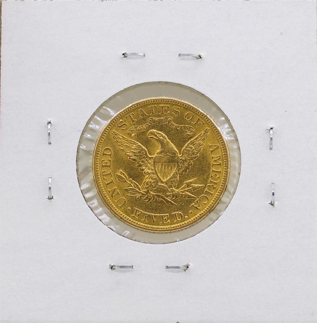 1906 $5 Liberty Head Half Eagle Gold Coin - 2