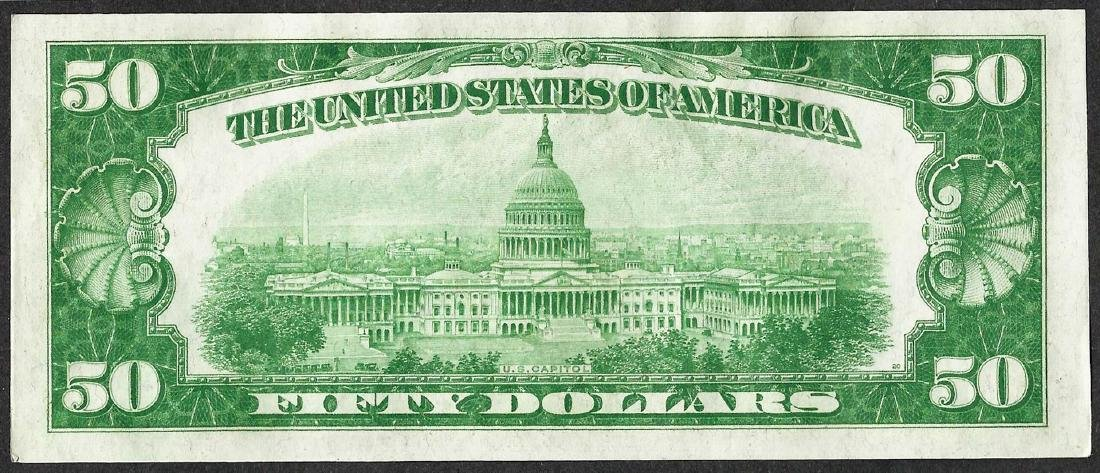 1928A $50 Federal Reserve Note - 2