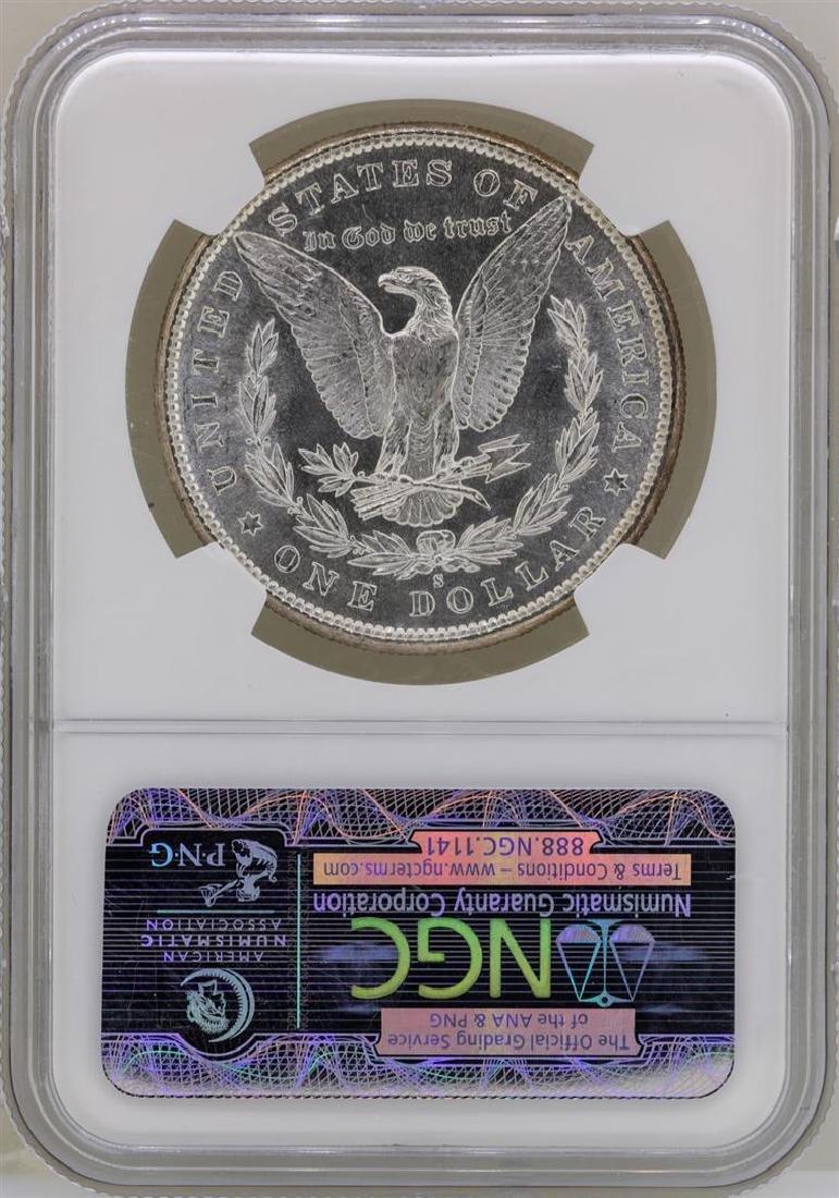 1881-S $1 Morgan Silver Dollar Coin NGC MS65 - 2